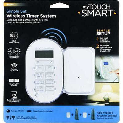 GE PROGRAMMABLE My Touch Smart Digital In Wall Timer