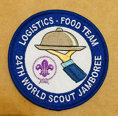 Logistics Food Team 24th World Scout Jamboree