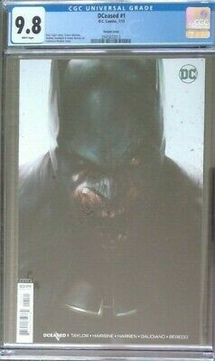 DCeased #1__CGC 9.8__Mattina variant cover