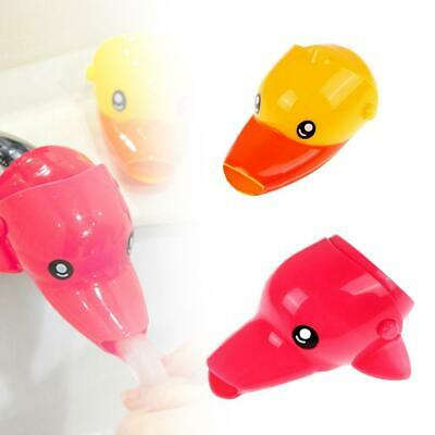 Animals Faucet Extender Kids Happy Fun Tubs Baby Hand Washing Bathroom Sink Favo