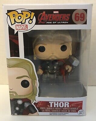 Funko Pop! THOR #69 Avengers Age of Ultron Marvel Vinyl Figure NIB