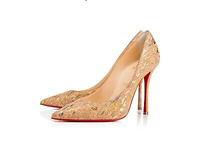 huge selection of 5afed eb42b CHRISTIAN LOUBOUTIN NEW Very Prive 100 Patent 37.5 - $365.00 ...