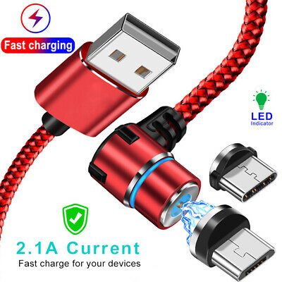 Magnetic Cable Micro USB TypeC Fast Charging Microusb Type-C Magnet Charger Wire