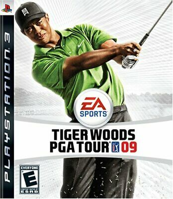 Tiger Woods PGA Tour 09 PS3 Complete With Booklet Free Shipping In Canada