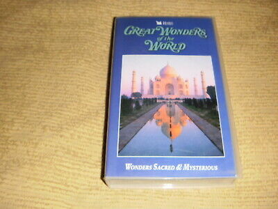Great Wonders Of The World Sacred & Mysterious 1993 VHS TAPE as NEW VIDEO PAL