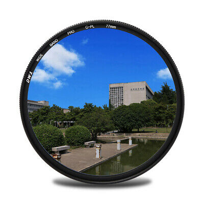 Ultra Slim CPL Circular Polarizing Lens Camera Filter 52/55/58/62/67/72/77/82mm