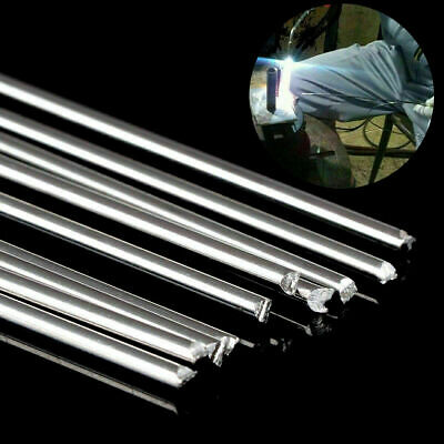 1.6mm/2mm*500mm Low Temperature Aluminum Welding Solder Wire Flux Rods 1-10Pcs