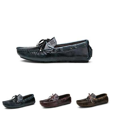 Alligator Pattern Mens Tassel Slip On Loafers Comfy Moccasins Gommino Pump Shoes