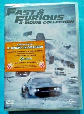 FAST& FURIOUS 8 movie collection cofanetto DVD