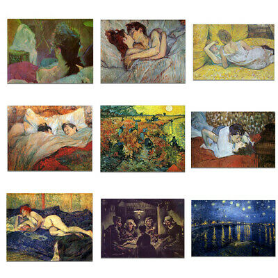German Classical Art Oil Painting Canvas Poster Pictures Wall Hanging Home Decor
