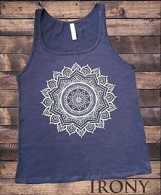 Jersey Tank Top Ethnic Mandala Circle line Art Graphics Print JTK1545