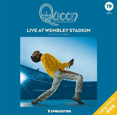 Queen LP Record Collection Live At Wembley Stadium Deagostini Japan Freddie OOP