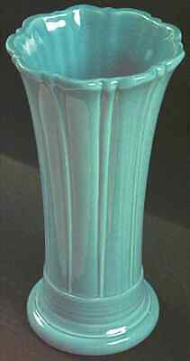 Homer Laughlin Fiesta Turquoise (Contemporain) 24.4cm Evasé Vase 2523656