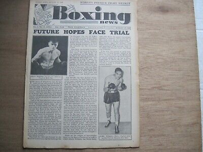 Boxing News Magazine - August 17, 1949 Vintage Issue