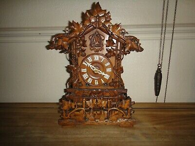 Antique Black Forest Cuckoo Clock Probably Beha Imported Morath Bros Liverpool