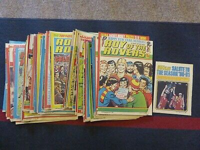 Roy of the Rovers 1981 Complete Year 52 issues
