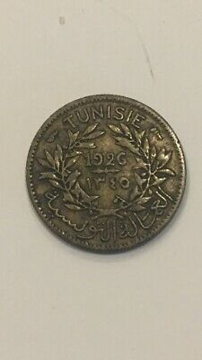 1926 Tunisia Bon Pour 50 Centimes Circulated (1 Coin Only)