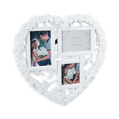 Heart Collage Multi Picture Frame Picture Display Hanging Gallery Wedding