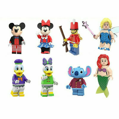 Disney Cartoons Minnie Daisy Little Mermaid Mini figure Compatible With