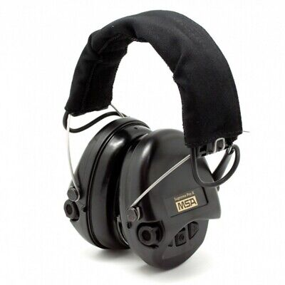 MSA Sordin Supreme Pro X 75302-X-02 Black Earshells Hunting/Shooting Headset