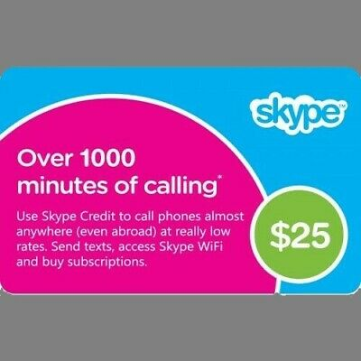 skype voucher up to 1000 minutes