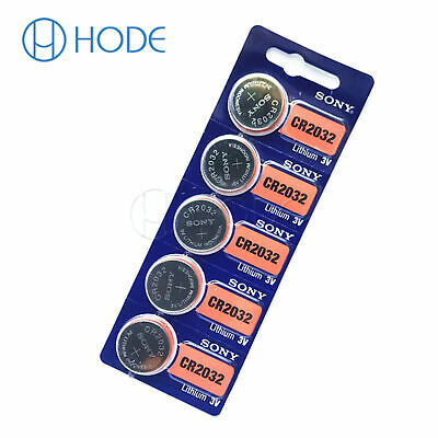 5/10PCS CR2032 3V Button Coin Cell Li-ion Battery CR 2032 for Motherboard UK