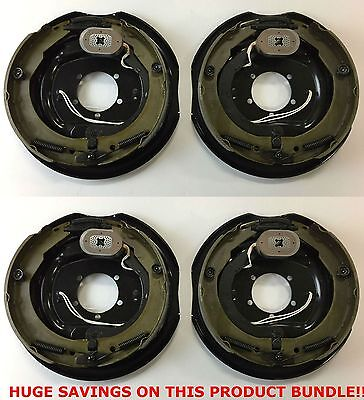 "12"" x 2"" Electric Trailer Brake Assemblies -  (2) Right Hand and (2) Left Hand"