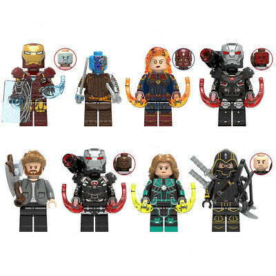 Marvel Super Heroes Avengers Endgame Iron Man Thor Hulk Mini Figures Compatible