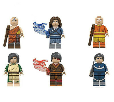 Nickelodeon Cartoon Avatar The Last Airbender Mini figure Compatible With