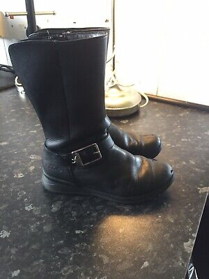 Black Girls Boots - Clarks Size 12.5F