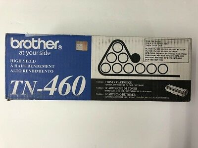 Genuine Brother TN-460 TN460 High Yield Black Toner Cartridge 012502525981