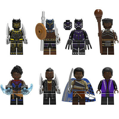 Marvel Super Heroes Black Panther Killmonger Mini figure Compatible With