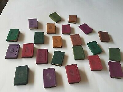 Vintage miniature Shakespeare books,23 of them,late 19th century-early 20th cent
