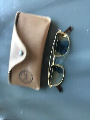 Vintage Bausch And Lomb Ray Ban W1756 NWAS G15 Classic Aviator Sunglasses USA
