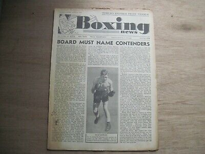Boxing News Magazine July 6, 1949 - Vintage Issue