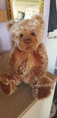 """Charlie Bears Wilfred - Retired Mohair Bear - 2010 Isabelle Lee Collection - 14"""""""