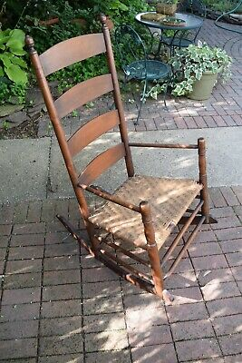 vintage  Maple arm chair shaker rocker