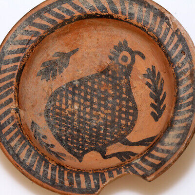 Museum Quality Indus Valley Terracotta Small Bow- Decorated Circa 1900-1000 Bc