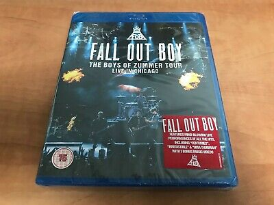 Bluray Fall Out Boy The Boys Of Zummer Tour Live In Chicago (Neuf)