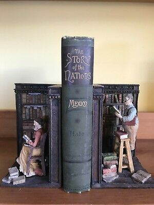 The Story of the Nations - Mexico 1891 color folding map