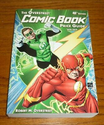 The Overstreet Comic Book Price Guide 48th Edition, Green Lantern Flash Cover