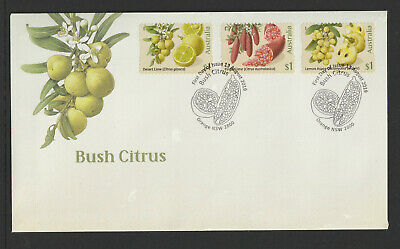 Australia 2019 : Bush Citrus - First Day Cover with Self-adhesive Stamps,