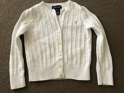 Ralph Lauren Cable Knit Cardigan - Girls
