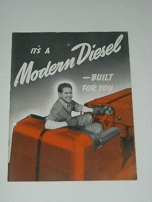ALLIS - CHALMERS HD-10 TRACTOR 24 Page Brochure 1941?
