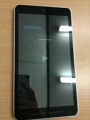 Used Hp Hp7 G2 1311 Silver 8Gb 7 Inch Portable Tablet Android