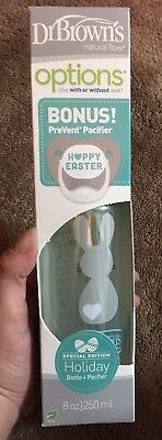 +BONUS! Dr Browns Natural Flow Special Edition Holiday Easter Bunny & Pacifier