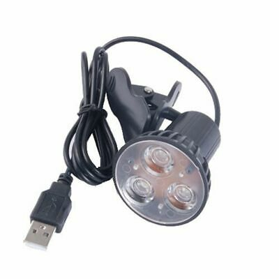 USB Light Lamp Super Bright 3 LED Clip On Spot For Laptop PC Notebook AU STOCK