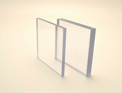 Clear Polycarbonate Sheet Virtually Unbreakable Makrolon Lexan 3mm Thickness