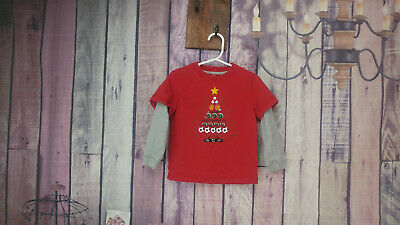 Boys j. khaki sports christmas tree long sleeve shirt size 3T AE45