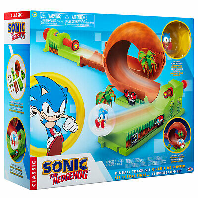 Sonic The Hedgehog Pinball Green Hill Zone Track Playset